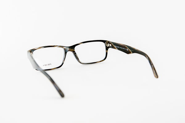 Eyeglass Frames Hurt Ear : PRADA Eyeglasses-VPR 16M EAR-1О1 Brown eBay