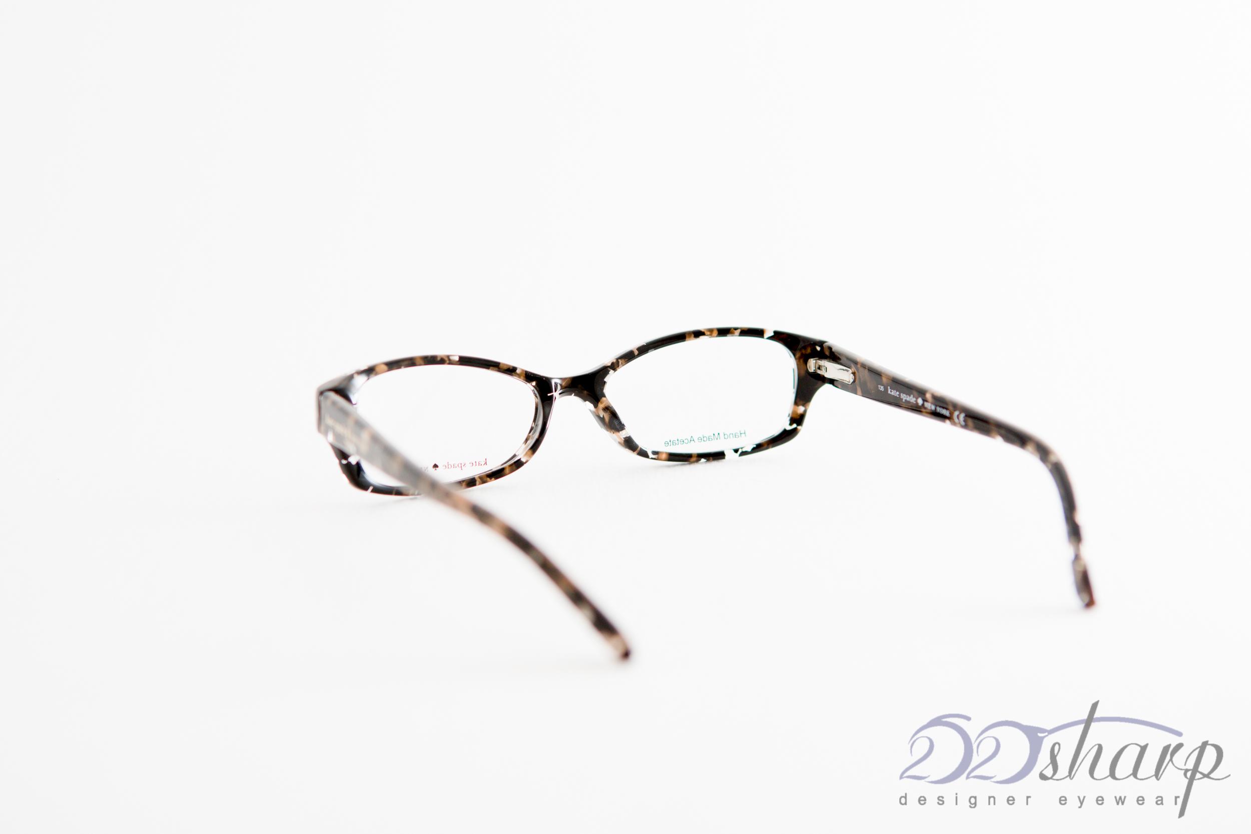 Kate Spade Sheba Eyeglass Frames : KATE SPADE Eyeglasses-SHEBA 0DA5 Flecked Tortoise eBay