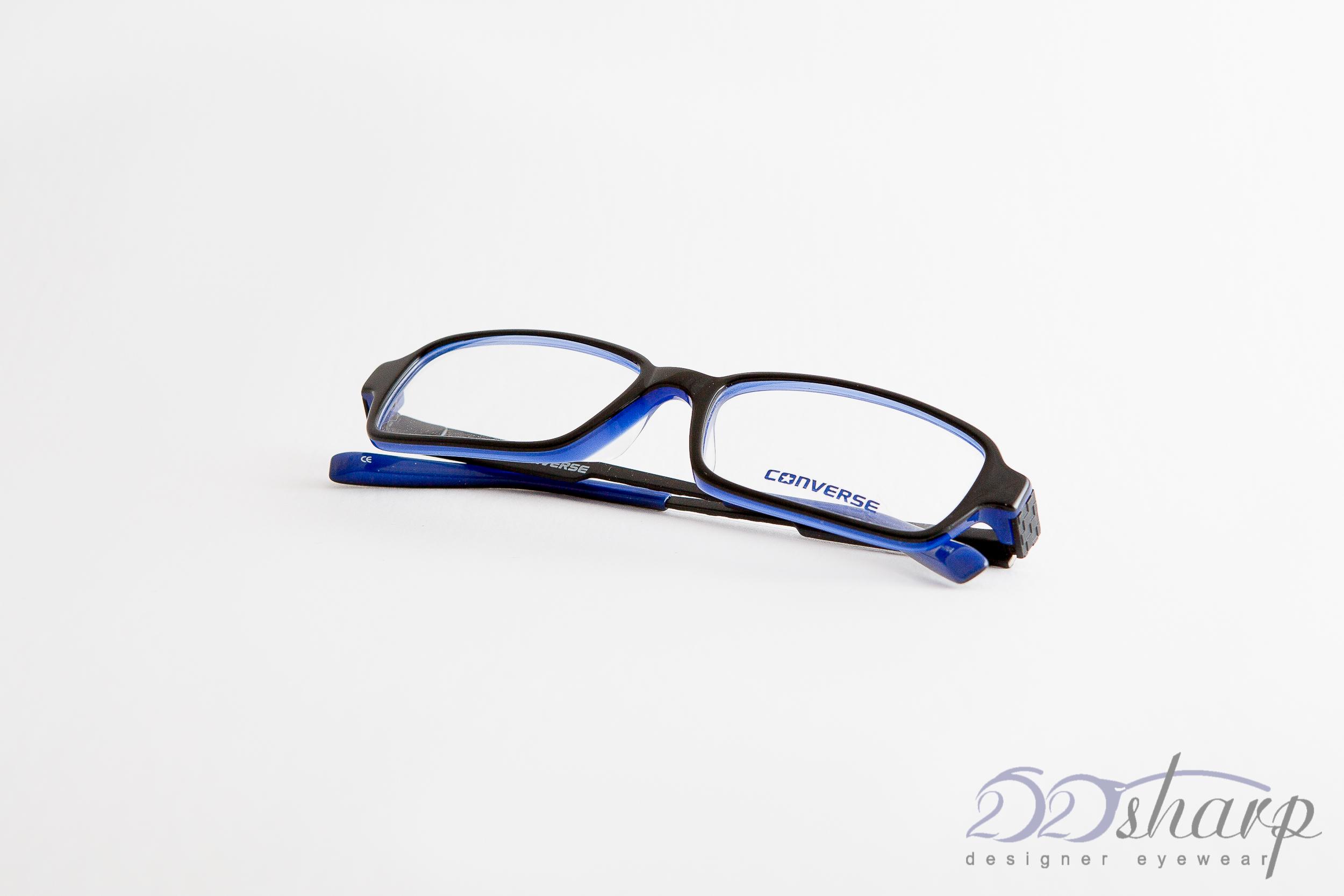 converse eyeglasses q002uf black black blue ebay