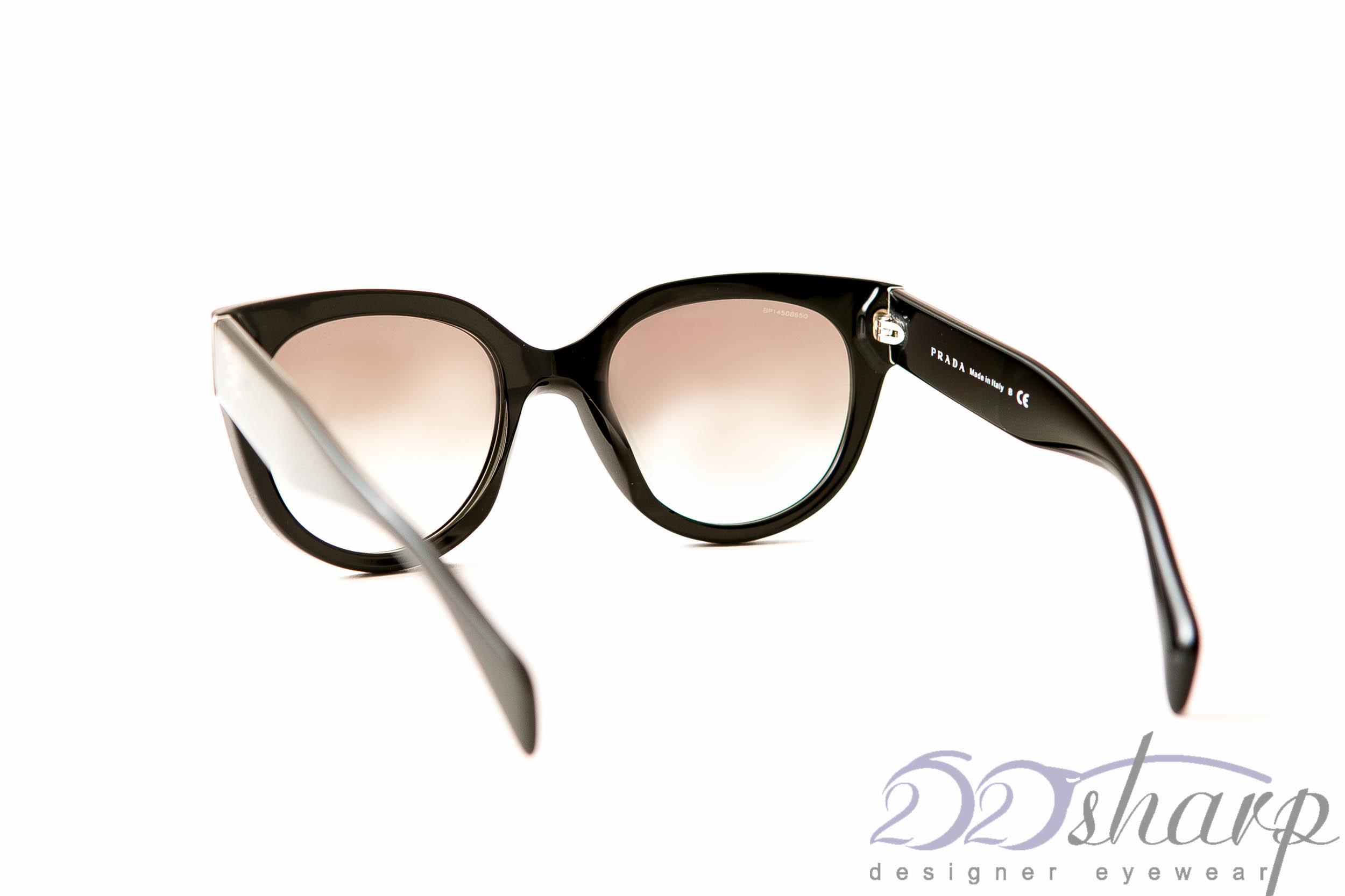 Glasses Frames You Can Sleep In : PRADA Eyeglasses-PRADA SPR 17O 1AB-0A7 Black eBay