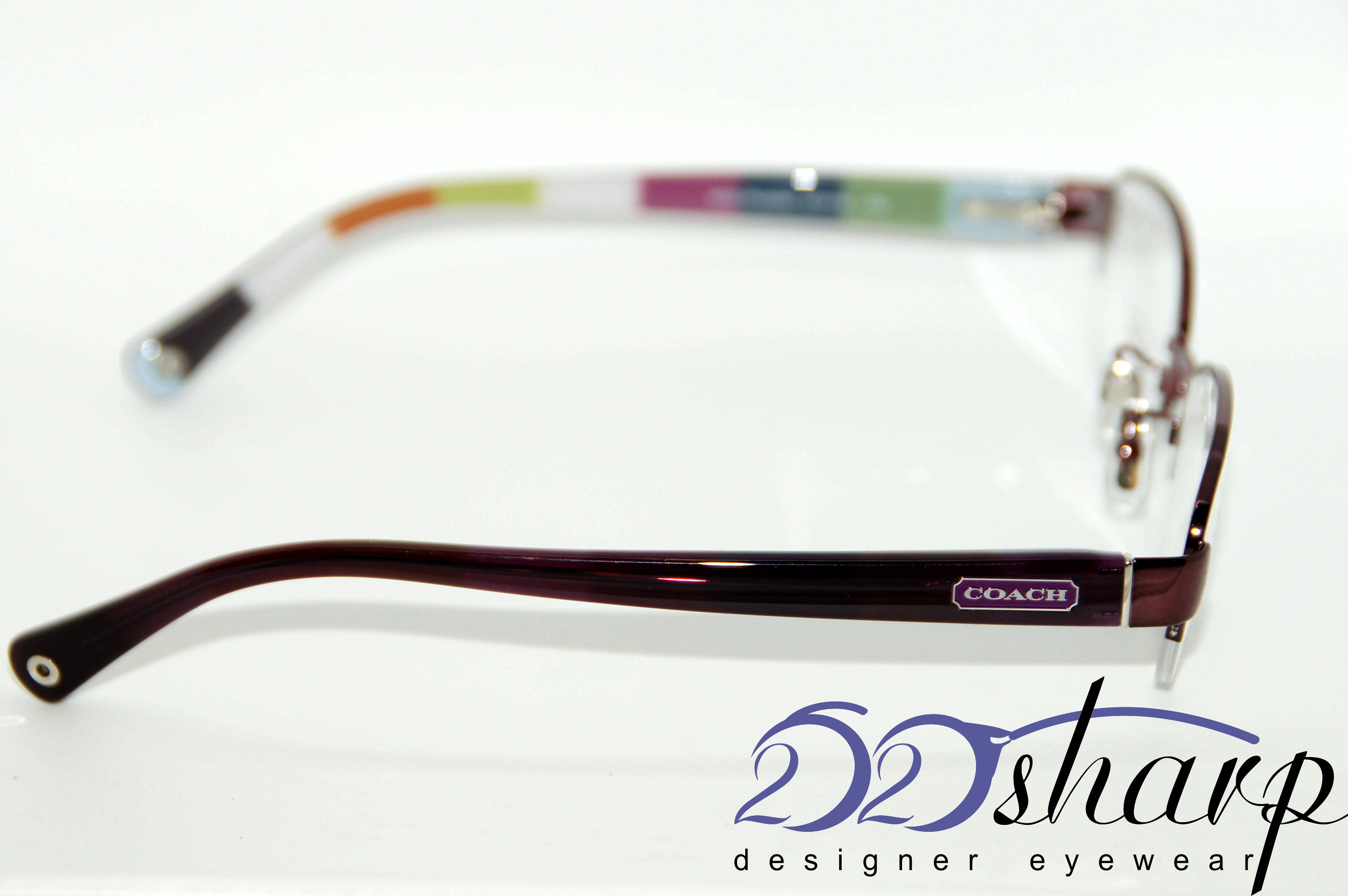 Coach Eyeglass Frames Bettie : Coach Eyeglasses-Coach 5004 Bettie 9032 Purple Purple