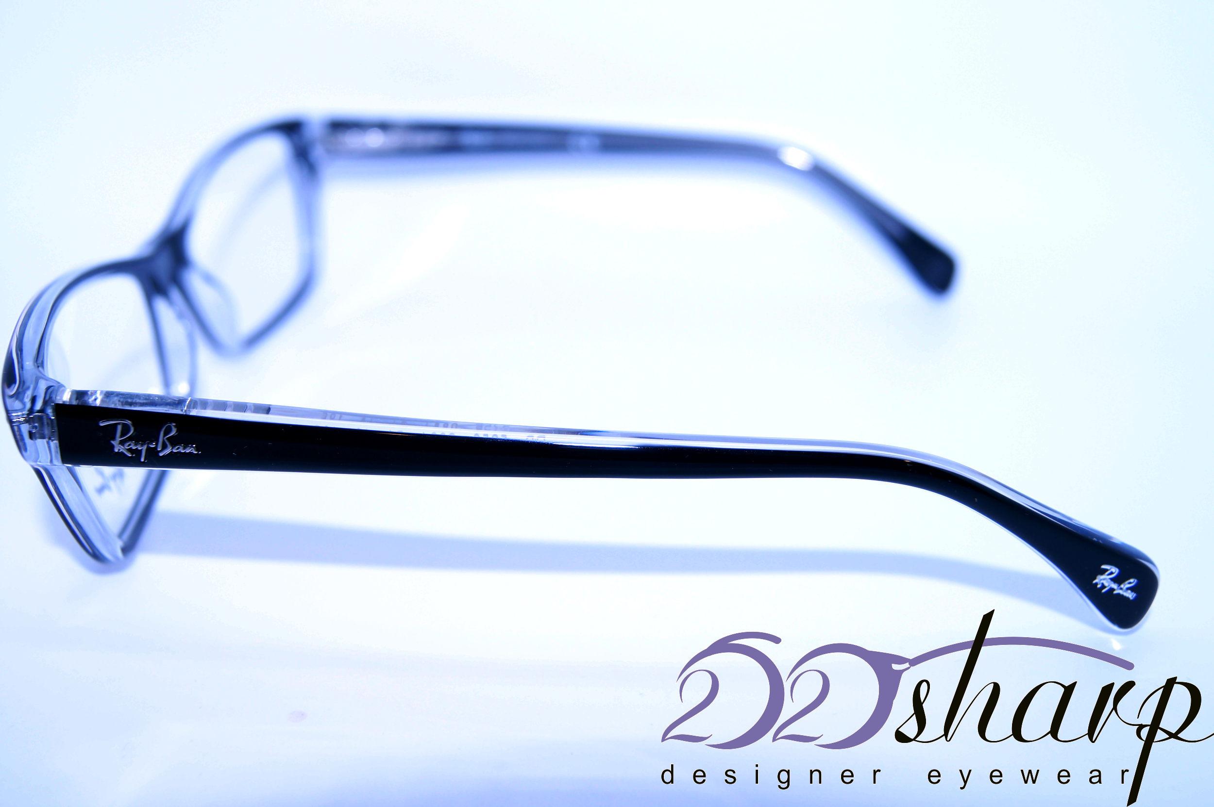 ban eyeglasses ban 5256 2034 54 black ebay