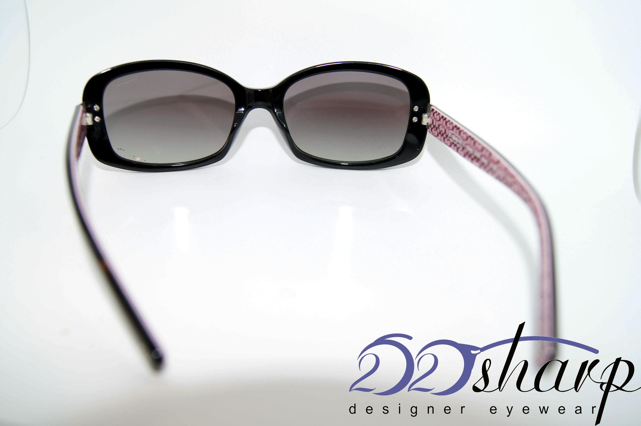 coach eyeglasses coach 8003 503411 55 black ebay