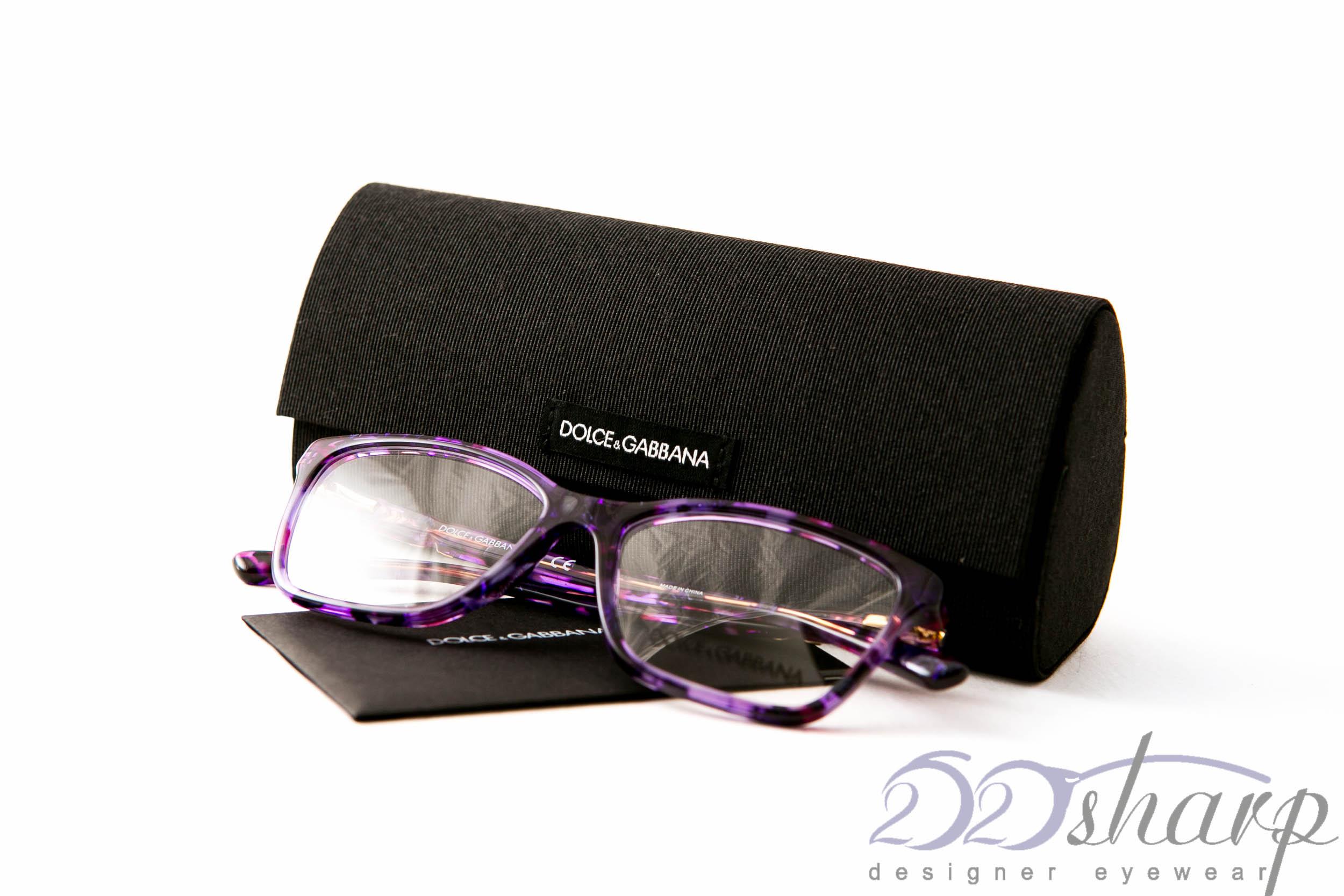 f3d510ec790 Dolce Gabbana Eyeglasses-DG 3153PM 2912 Violet Marble