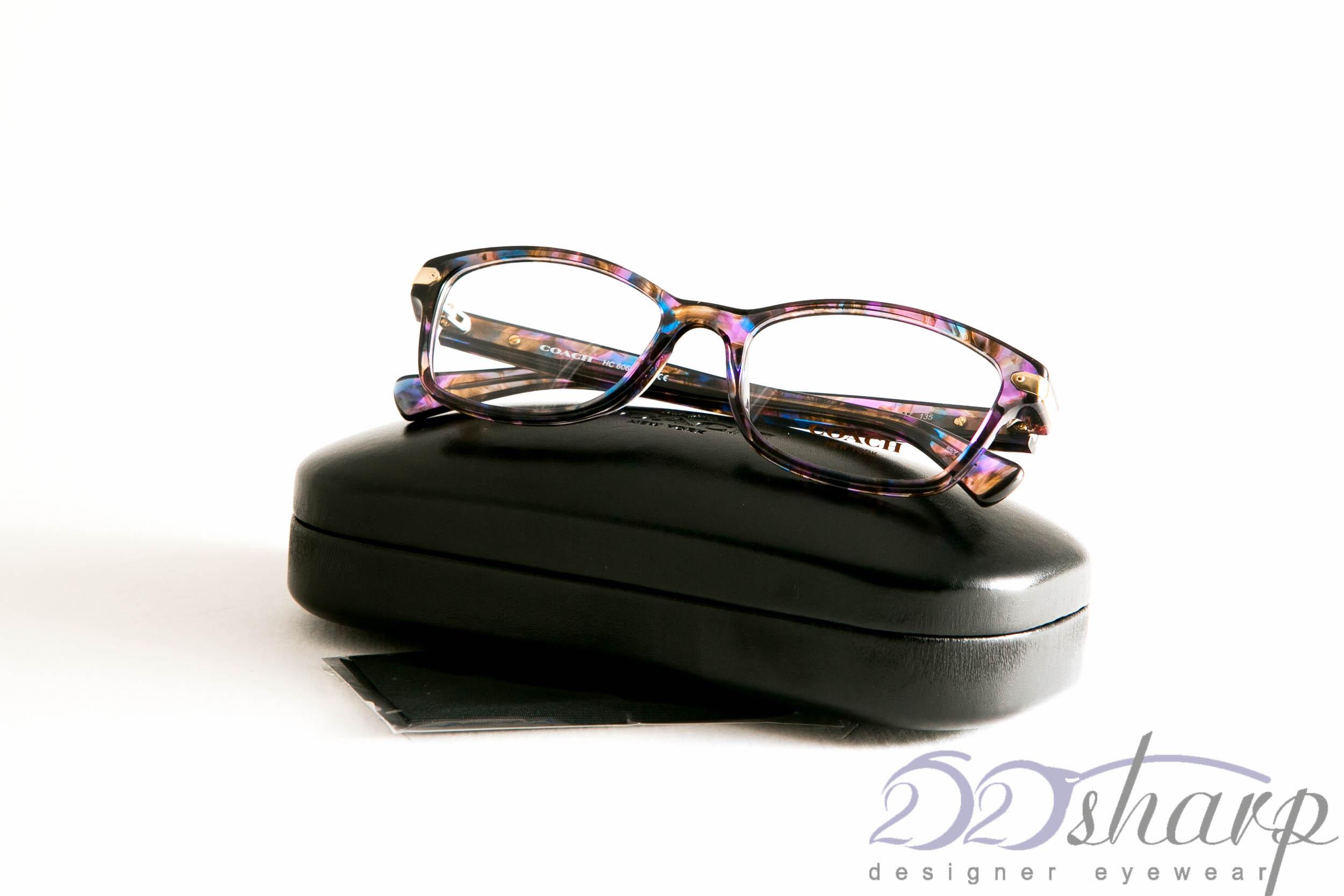 d7dbe1b7474 Coach Eyeglasses-HC 6065 5288 Confetti Purple
