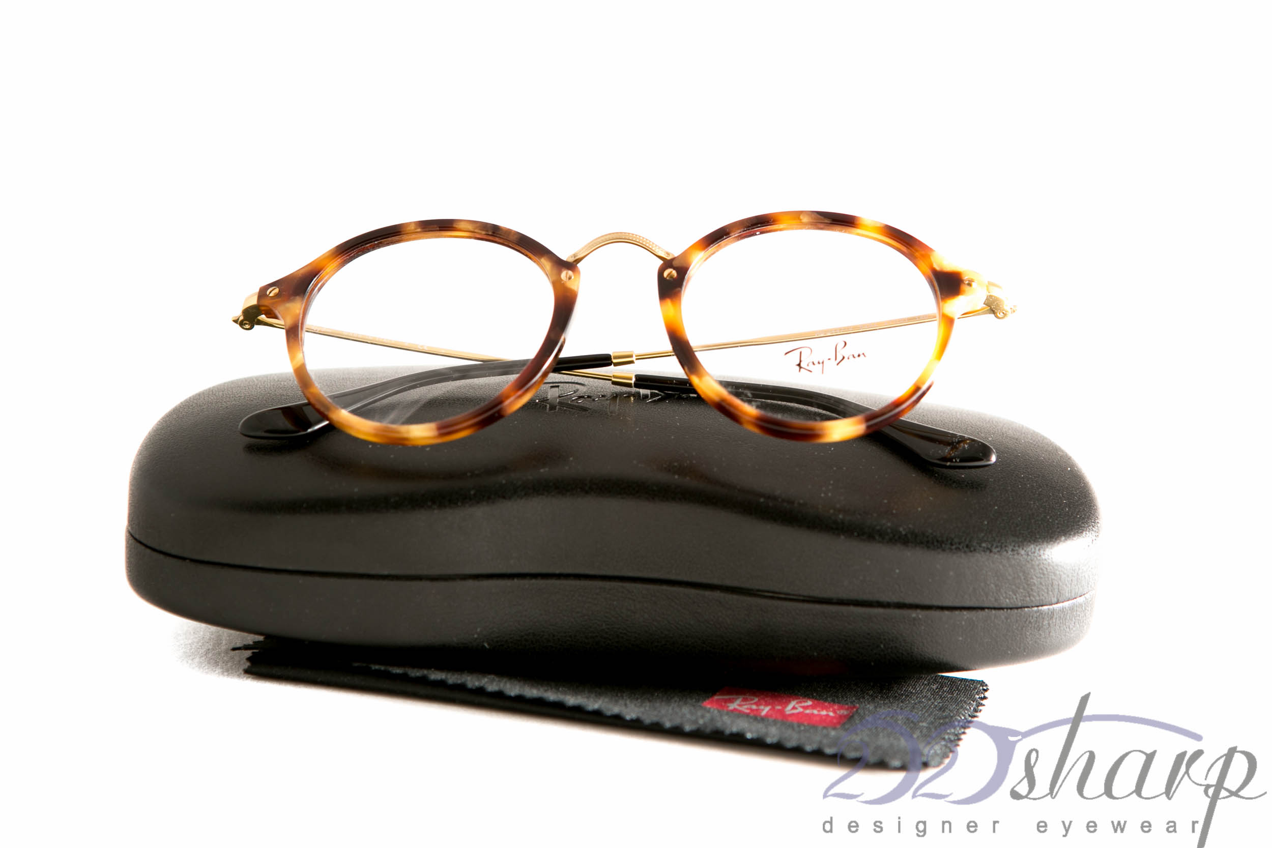 eac8511669d Details about Ray Ban Eyeglasses-RB 2447V 5494 Brown Havana