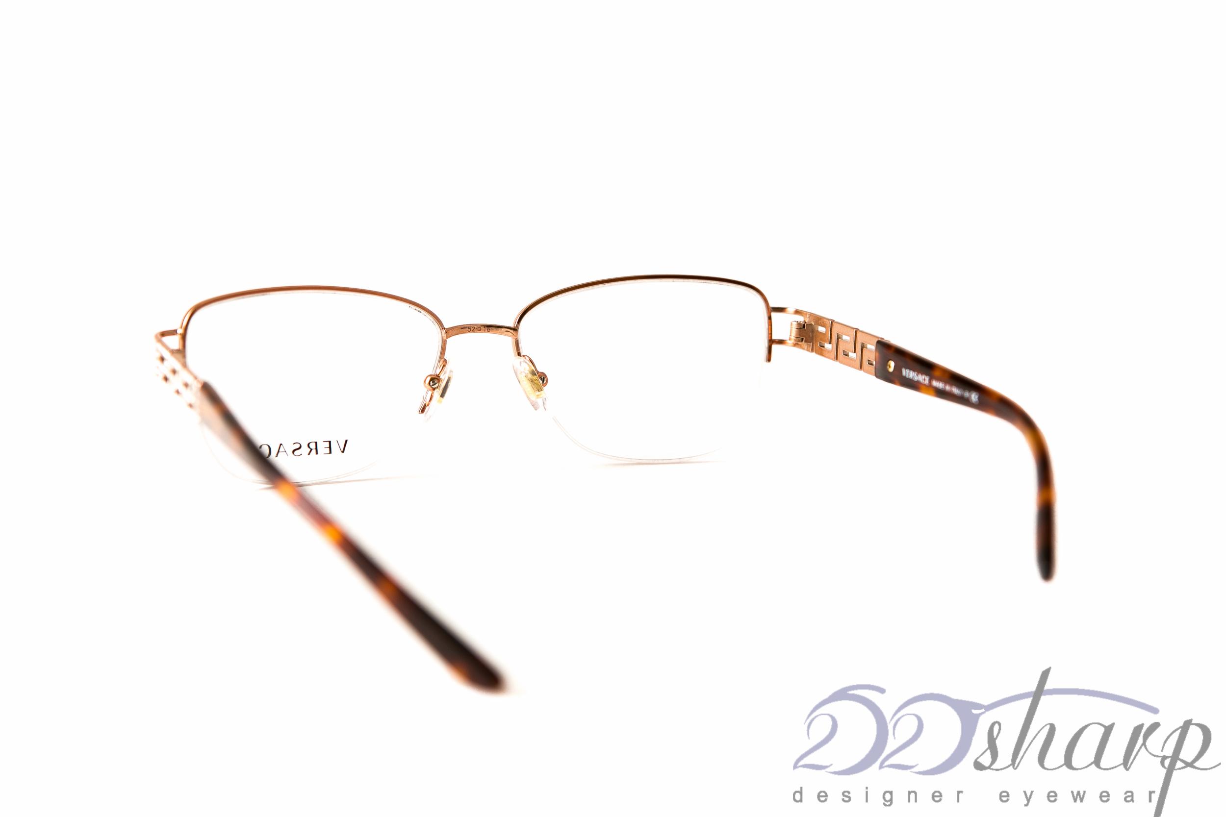 c306795a561 Versace Eyeglasses-Versace 1220B 1052 52-16 Copper