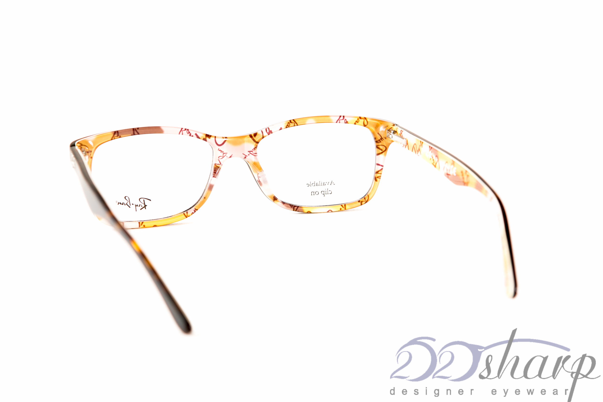 0243581eec Ray Ban Eyeglasses-RB 5228 5409 53 TOP MAT HAVANA 8053672234787