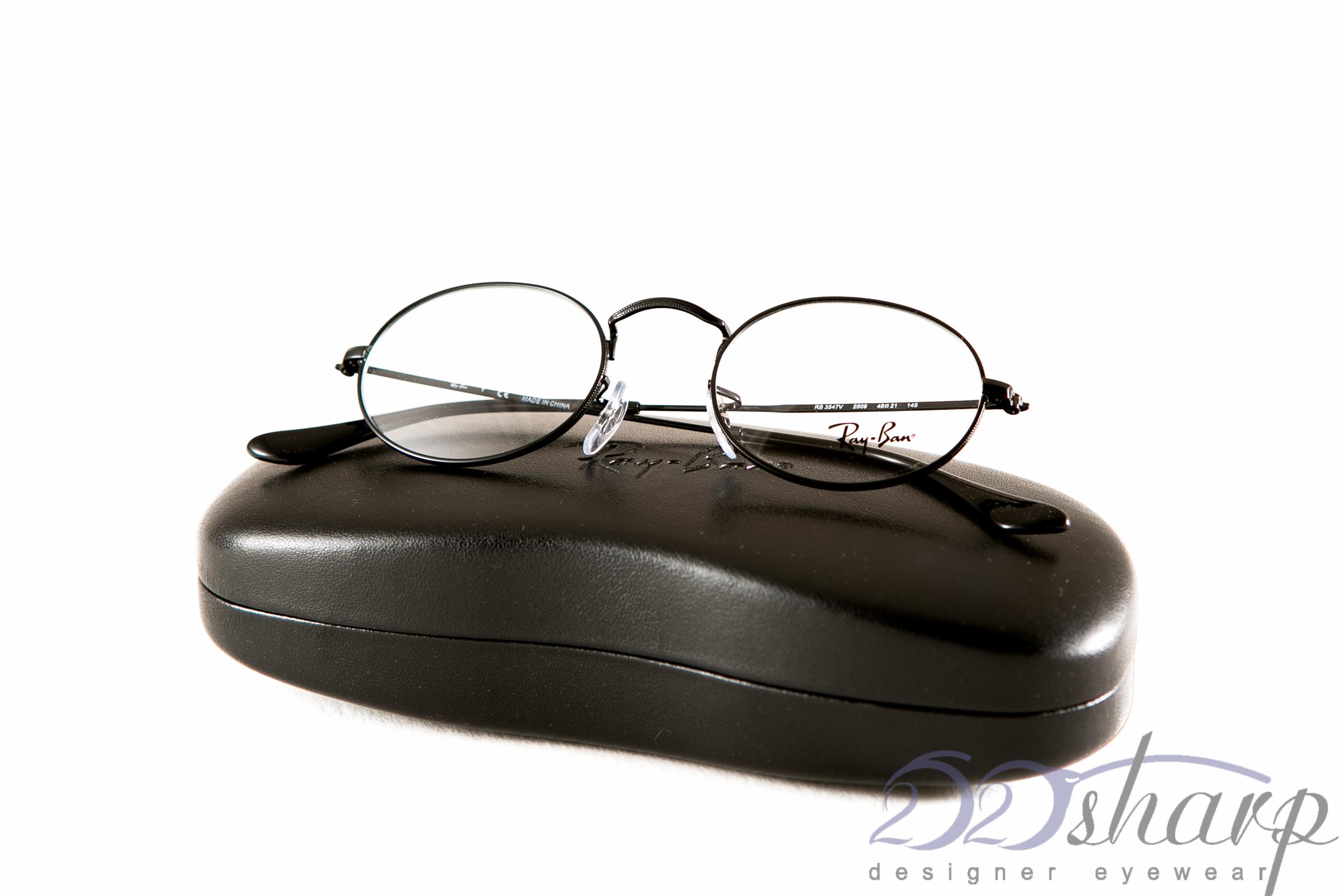 17050c873ba Ray Ban Eyeglasses-RB 3547V 2509 48 SHINY BLACK 8053672602845