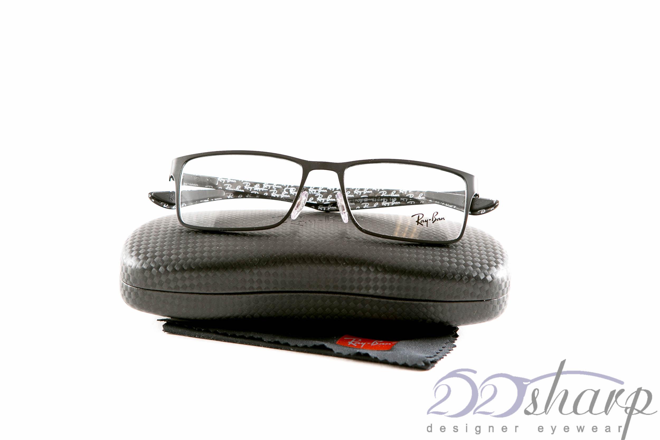 ed12236a0e2 ... reduced ray ban eyeglasses rb 8415 2848 53 black ebay 31bcf 80d76 ...