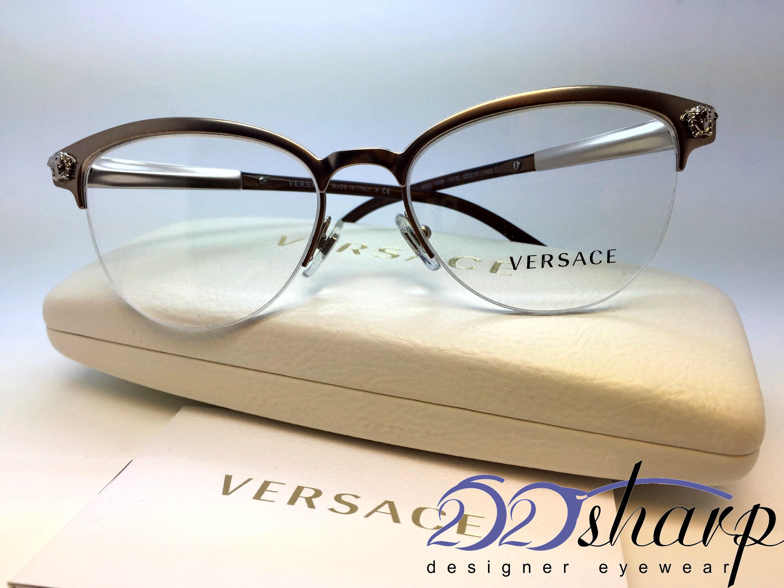 b51bf5b232 Versace Eyeglasses-OVE 1235 1375 53 Gold