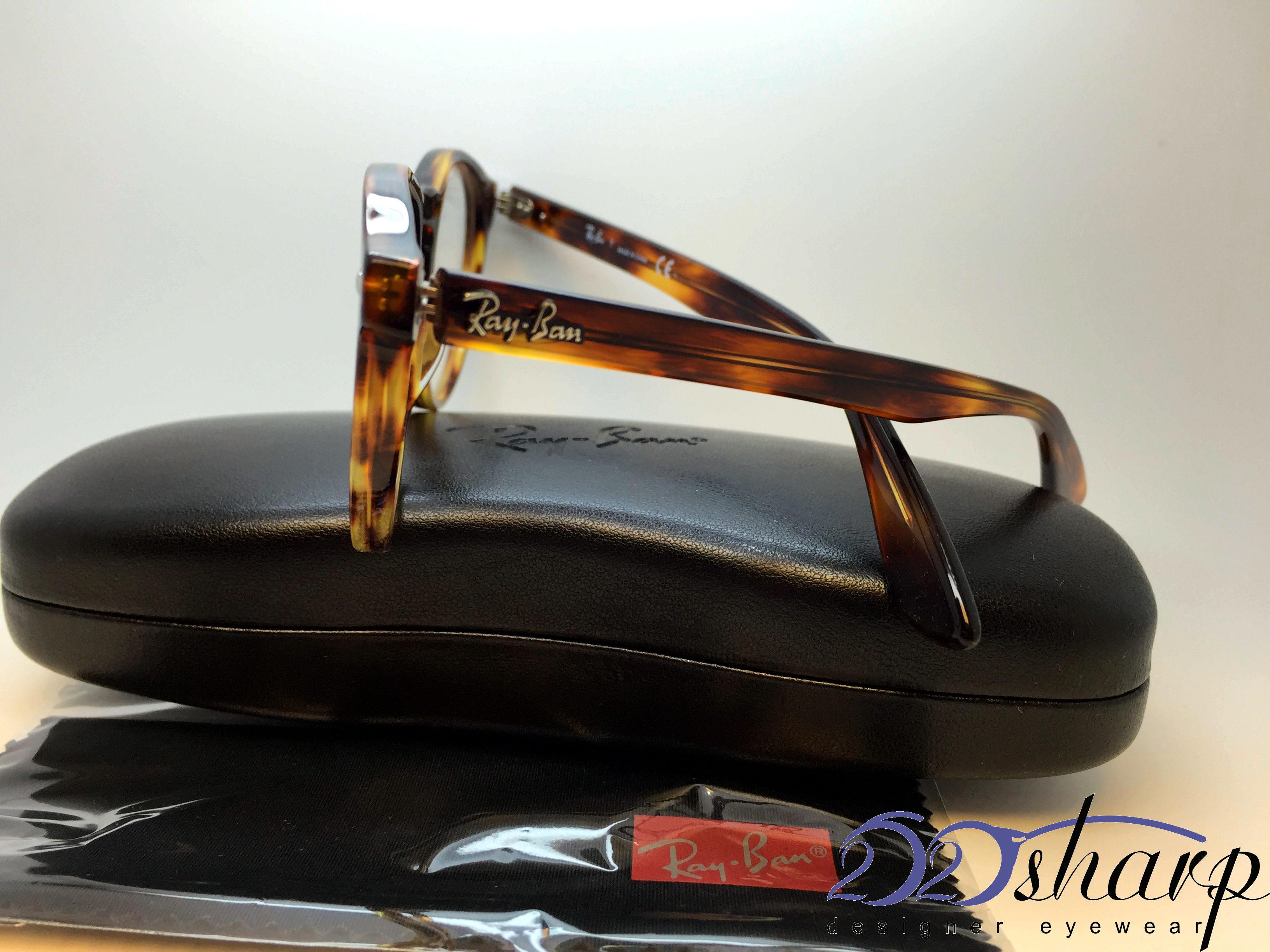 bb3bb2820f Ray Ban Eyeglasses-RB 5283 2144 49 Striped Havana